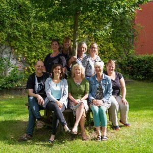 Team der Sozialpädagogen 2016