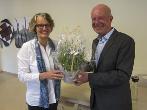 Frau Wolhers mit Prof. Dr. Thomasius