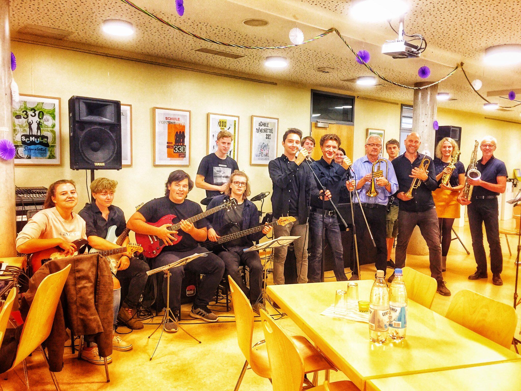 Bibapop- Die Big Band auf der Erasmus- Party